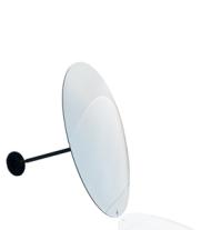 Övervakningsspegel, rund