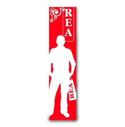 """Poster """"REA"""" Herr 170/40"""