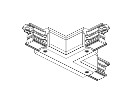 T-förgrening XTS 40 Vit