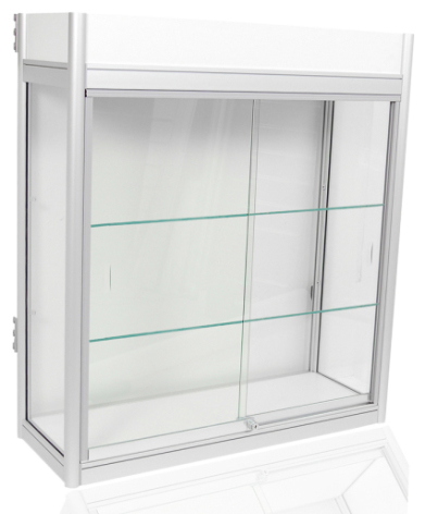 Beg. Glasmonter 90x33x1 2 hyllor