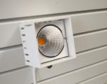 Spot Cube LED Spårp. 20W Vit