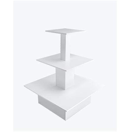 Skyltbord 3 vån vit